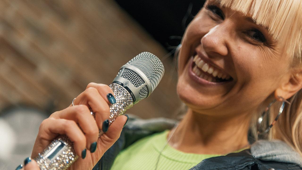 Déborah Rosenkranz zu Gast in der Life Channel Music Loft