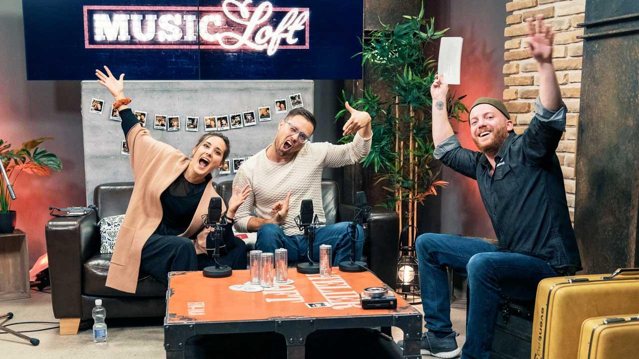 Das Geschwister-Duo Pines & Rivers zu Gast in der Music Loft von Life Channel
