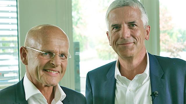Johannes Czwalina und Matthias Mölleney