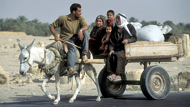 Im Osten Syriens an der Grenze zum Irak