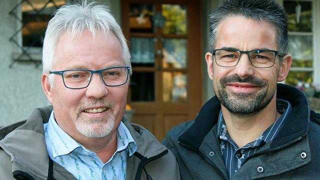 Michael Zbinden und Ruedi Heiniger