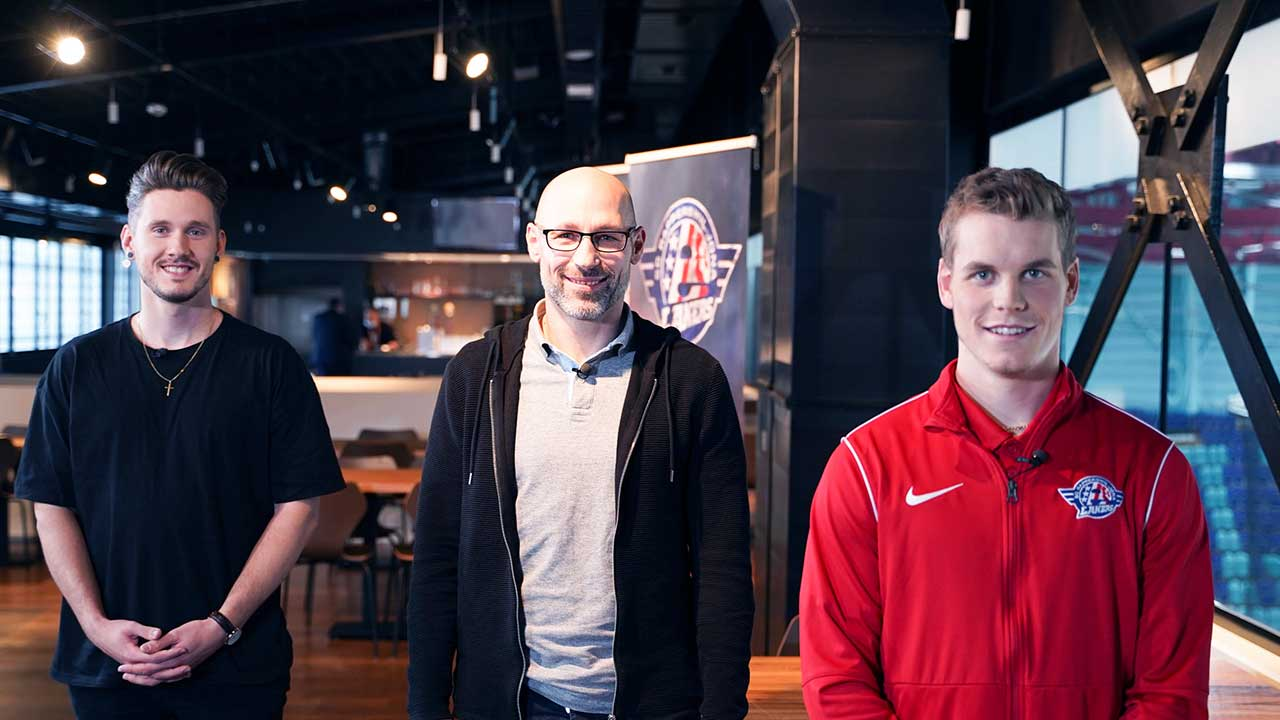 Fabio Hoegger, Daniel Hornecker und Dominik Egli