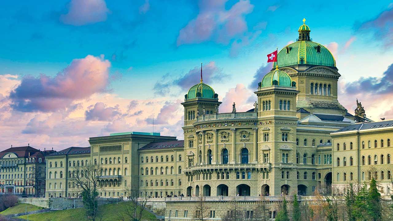 Bundeshaus in Bern