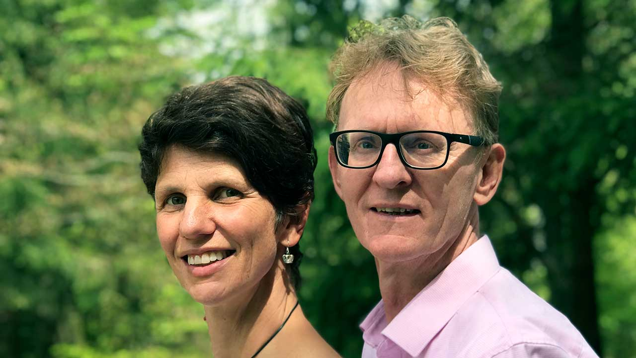 Wolfgang Edele mit Ehefrau Andrea   (c) privat