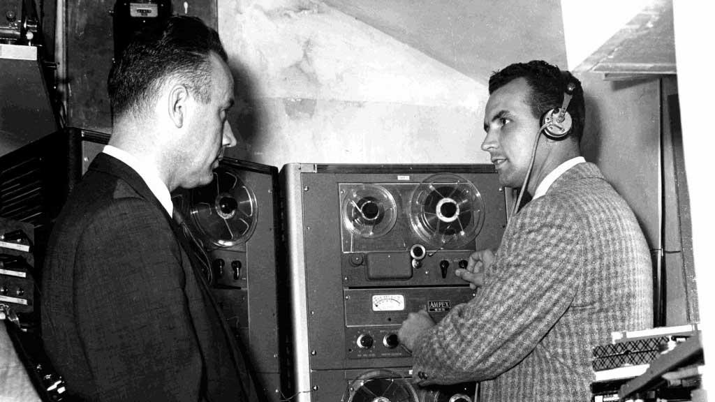 Paul Freed und Burt Reed in Tangier, 1957 | (c) TWR