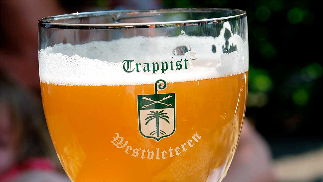 Ein Glas Bier Marke «Westvleteren»