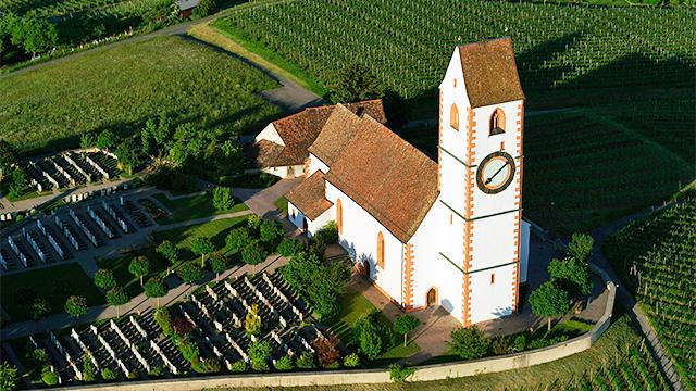reformierte Kirche St. Moritz von Hallau SH