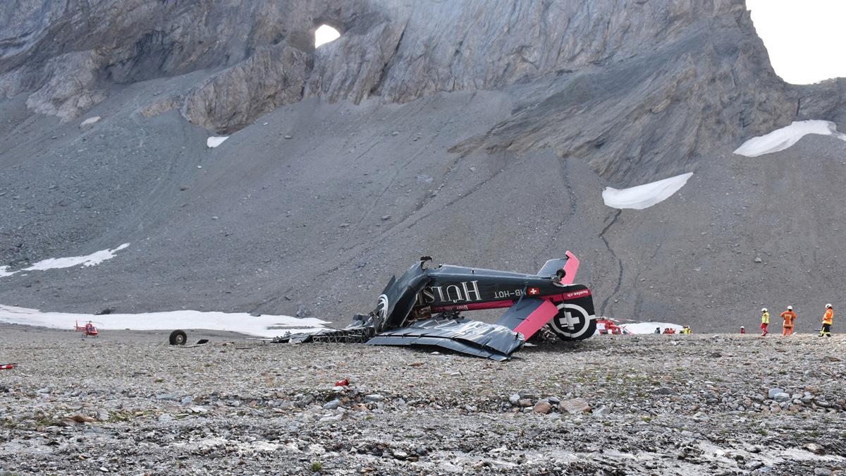 Ju-52-Absturz | (c) Keystone, Graubündner Kantonspolizei