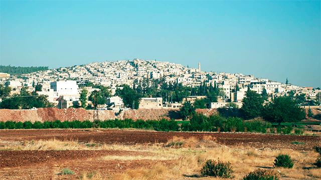 Stadt Afrin, Syrien