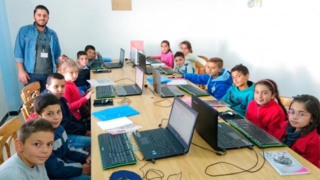 Schulprojekt in Syrien