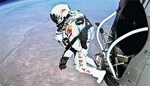 Bild: Red Bull Stratos