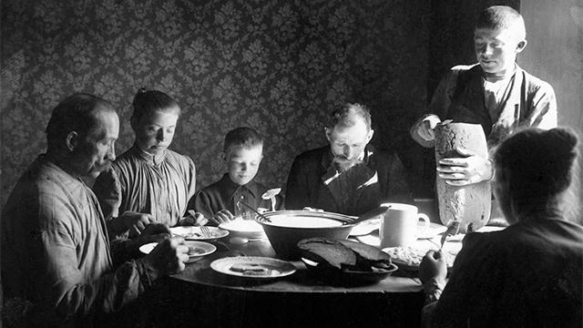 Schwedische Familie 1902