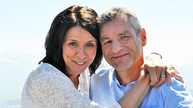 Brigitte Hegglin mit Ehemann Stephan