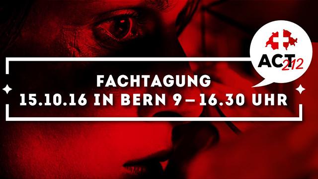 Konferenz gegen Menschenhandel (c) act212.ch