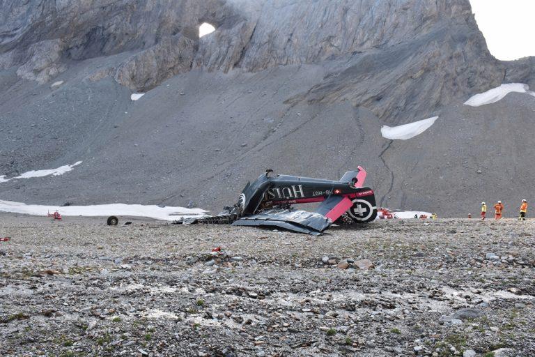 Absturz der Ju-52 | (c_)Keystone Graubündner Kantonspolizei